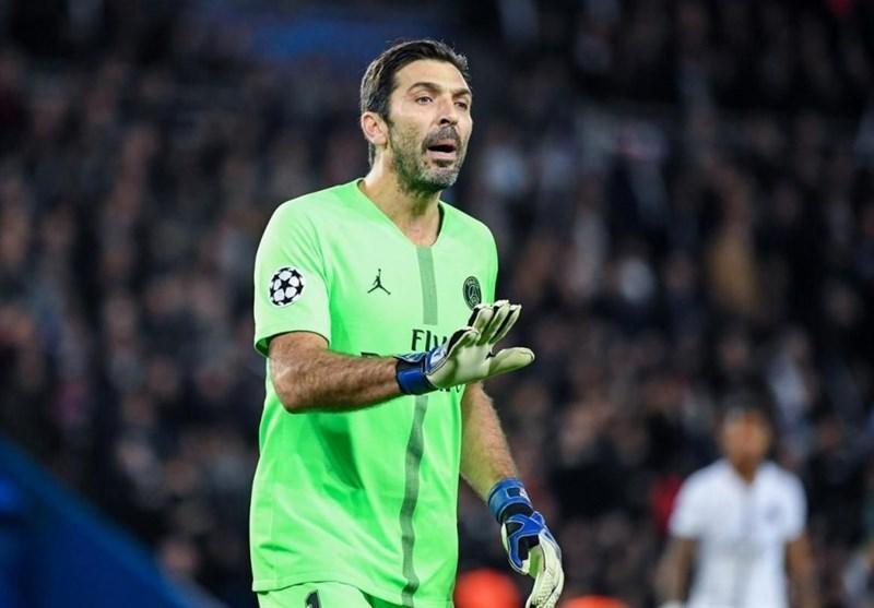 بوفون: از حذف اینتر و ناپولی از لیگ قهرمانان متأسف شدم