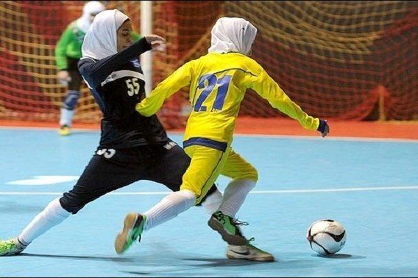 درخشش تیم لردگان در رقابت های فوتسال بانوان کشور