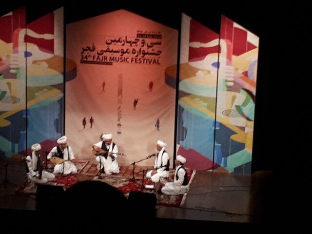 اجرای 2 گروه محلی در حوزه هنری