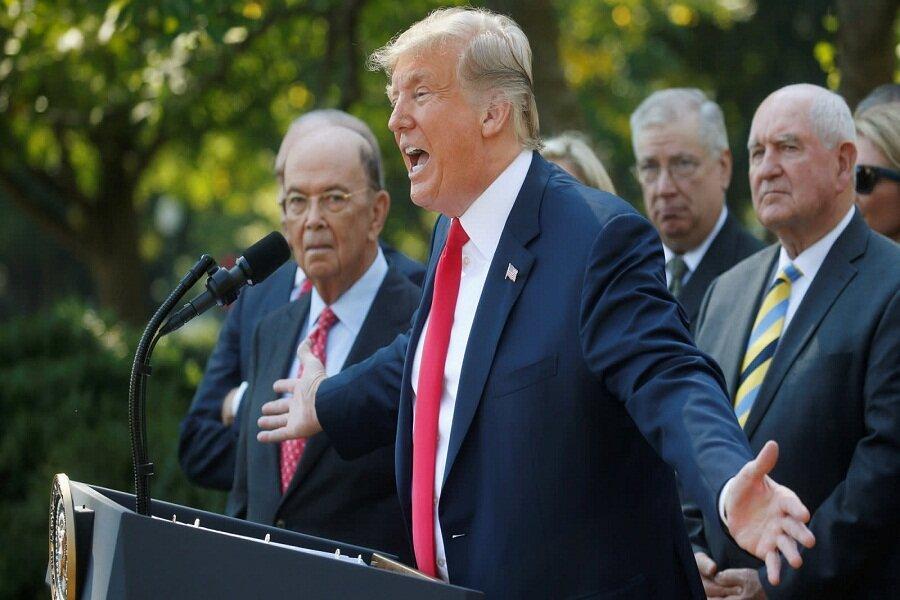 هشدار ترامپ برای اعمال تعرفه 11 میلیارد دلاری برمحصولات اروپا