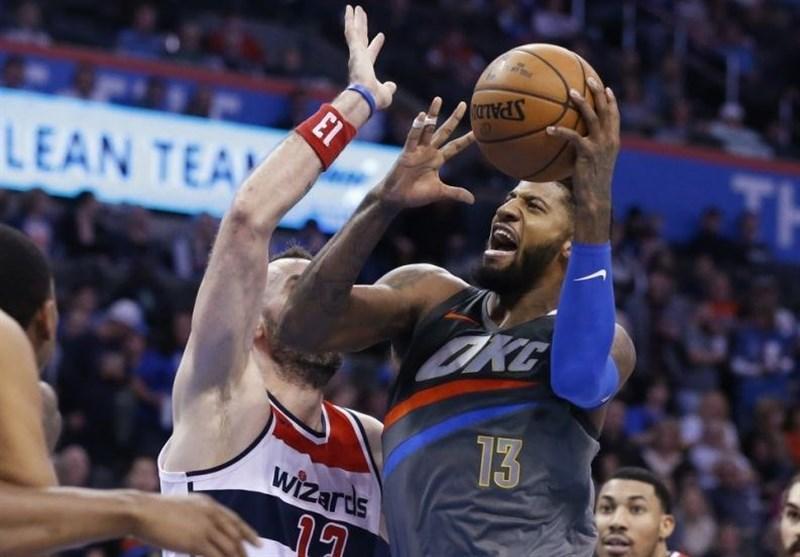 لیگ NBA، پیروزی تاندر در ثانیه پایانی، شکست پلیکانز در شب مصدومیت کری