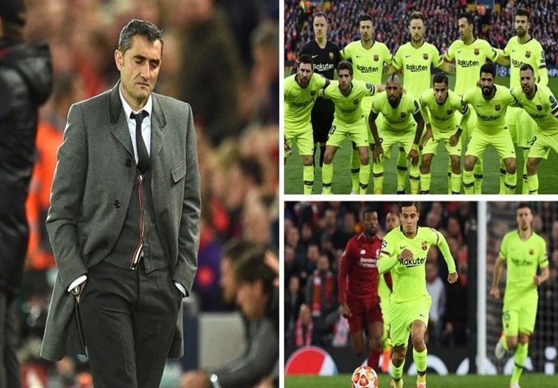 5 اشتباه غیرقابل شرح والورده در شب حذف بارسلونا