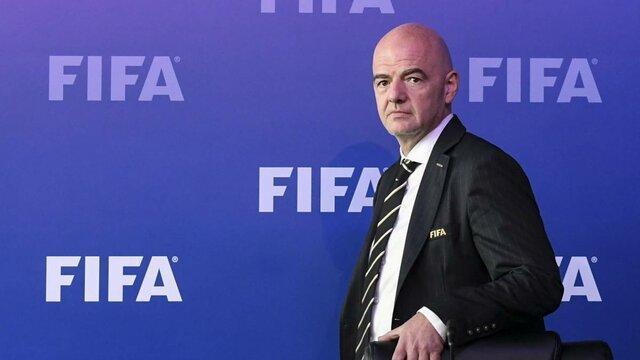 اینفانتینو تا 2023 رئیس فیفا ماند
