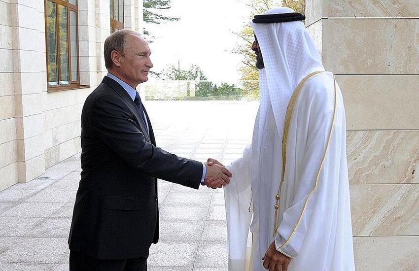 خبرنگاران گفت وگوی پوتین و ولیعهد امارات درباره امنیت خلیج فارس