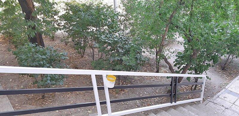 نصب سطل های زباله مخصوص سیگاری ها در پایتخت