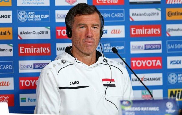 انتها کار کاتانچ در تیم ملی فوتبال عراق