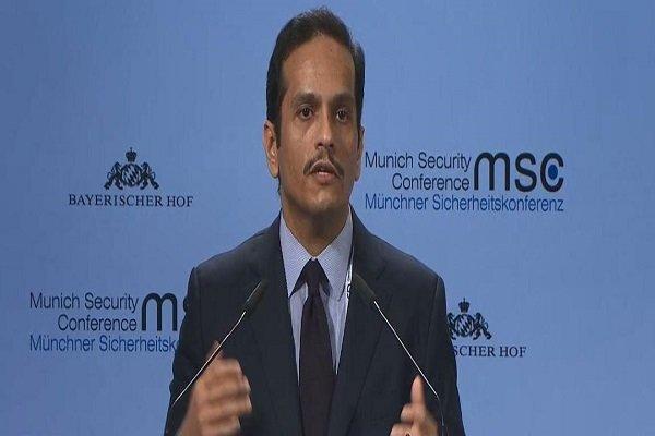 وزیر خارجه قطر خواهان انتها جنگ در یمن شد
