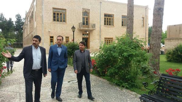 بازدید معاون استاندار خراسان شمالی از مجموعه فرهنگی تاریخی مفخم