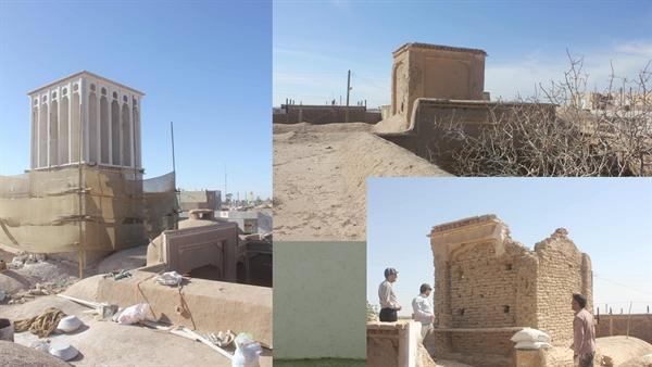 اتمام یک فصل از مرمت خانه تاریخی رمضانی در خراسان جنوبی