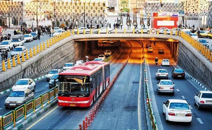 گذر از اتوبوس های برقی و دو طبقه و رسیدن به خطوط 10 گانه بی آر تی