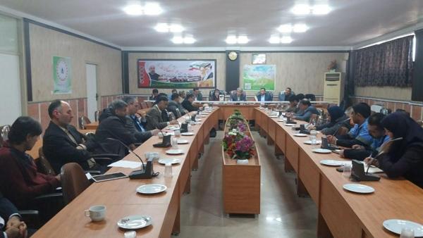 جلسه ستاد اجرایی خدمات سفر نوروز 1398 بندر ترکمن برگزار گردید