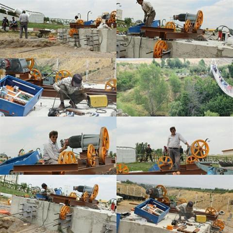 اولین پروژه قالیچه معلق ایران در مشگین شهر اجرا می شود