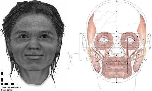بازسازی چهره یک زن پس از 13600 سال!