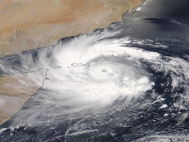 طوفان های شمال اقیانوس هند ایرانی می شوند