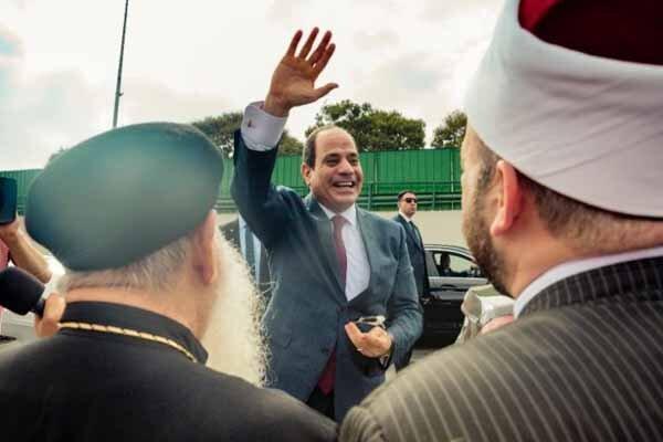 کشیش مصری که سرنوشت مخالفان سیسی را جهنم دانست