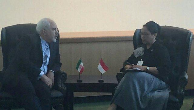 رایزنی وزرای خارجه ایران و اندونزی در نیویورک