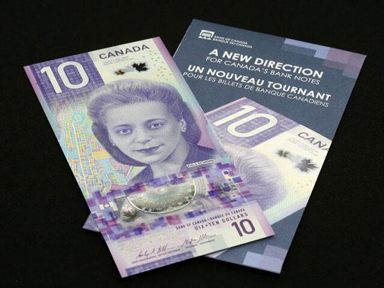 دلار کانادا جایزه اسکناس سال را گرفت