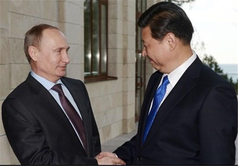 پوتین: همکاری روسیه و چین برای ثبات و قانون بین المللی مهم است