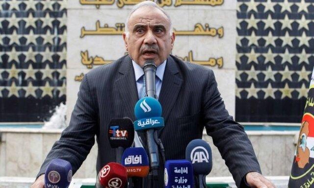 نخست وزیر عراق :دولت بدون وجود جایگزین کناره گیری نمی کند