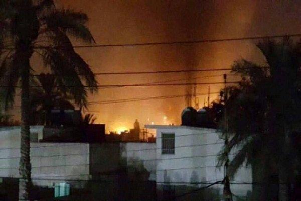 انفجار بمب صوتی در بغداد