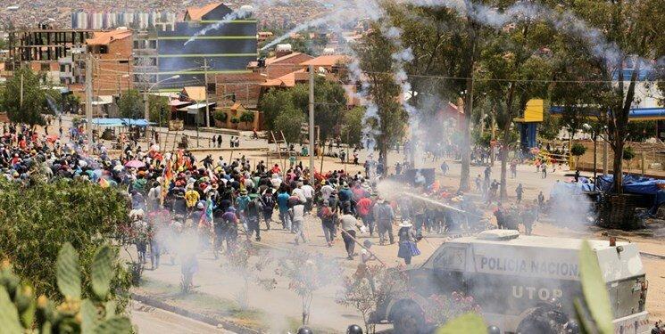 دیپلمات های آمریکا بولیوی را ترک می نمایند