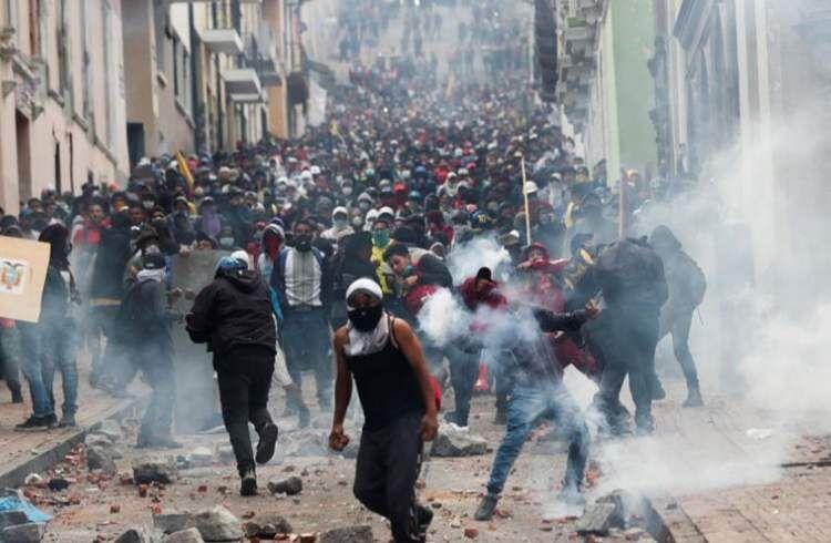 کلمبیا در آتش دومینوی اعتراضات در امریکای لاتین