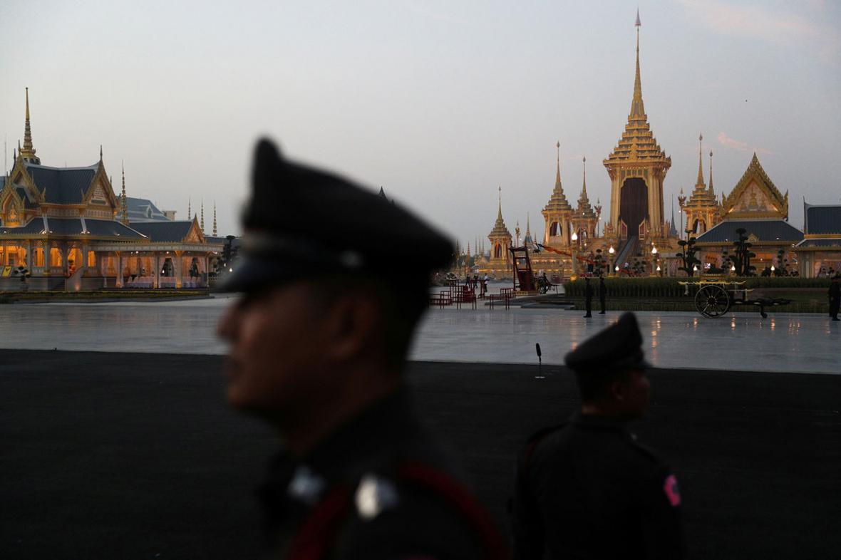 تشییع جنازه پادشاه فقید تایلند