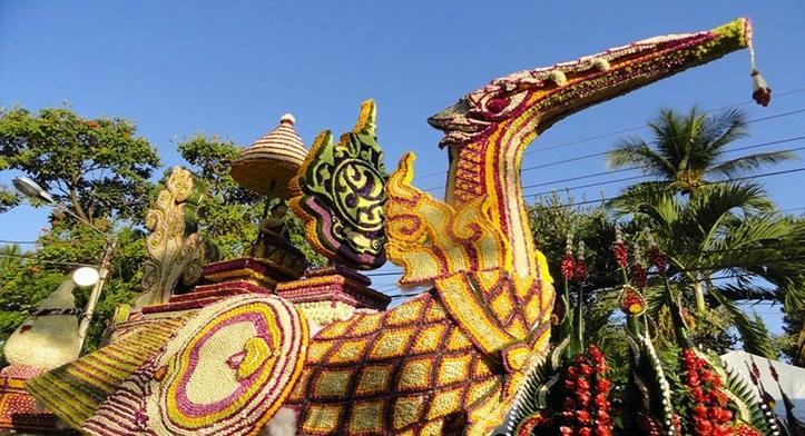 جشن گل در تور تایلند