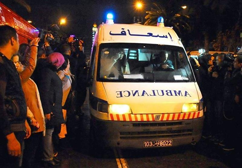 43 کشته و زخمی در تصادف یک دستگاه اتوبوس در تونس
