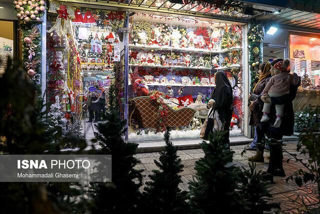 بوی عید در زمستان تهران
