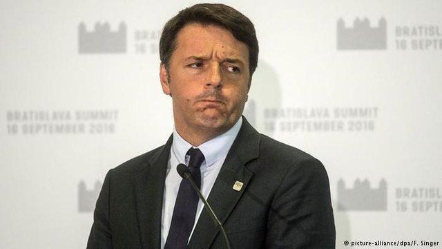 نخست وزیر سابق ایتالیا: سیاسی کردن رفراندوم اشتباه بود