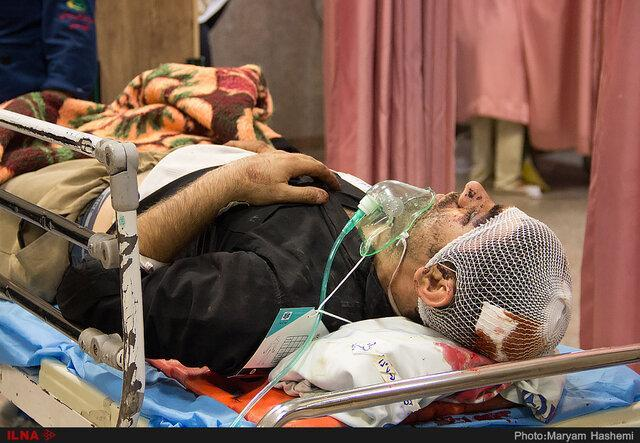 اعزام 2 مصدوم زلزله خانه زنیان به شیراز