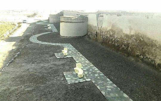 ساماندهی و تجهیز محوطه قلعه تاریخی بختک لیلان برای حضور گردشگران نوروزی