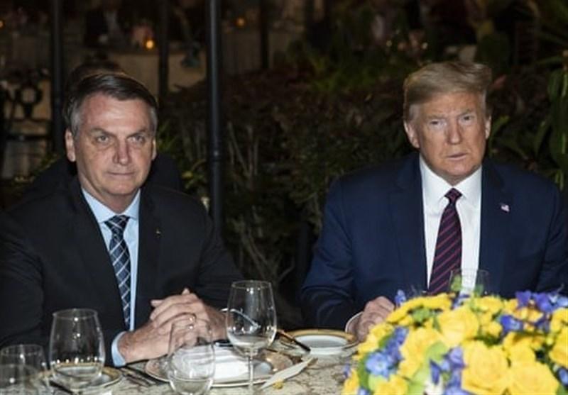 تأیید ابتلای رئیس جمهور برزیل به کرونا چند روز پس از ملاقات با ترامپ