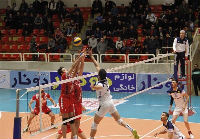 لیگ برتر والیبال، پیروزی پیکان در تهران