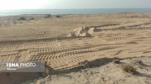 از بین رفتن ساحل روستای مسن در قشم با احداث قفس پرورش ماهی