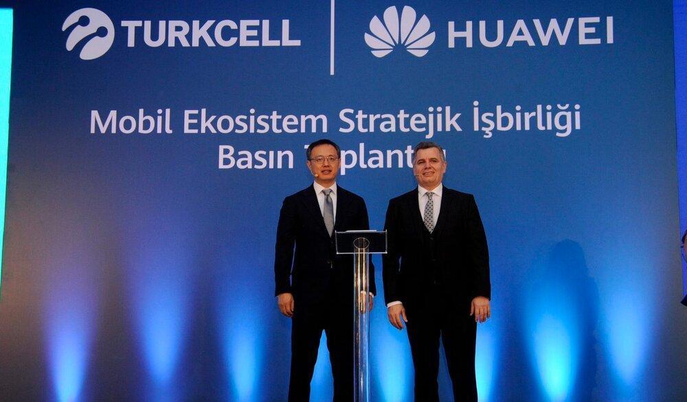 شروع همکاری Turkcell و هوآوی برای گسترش استفاده از سرویس های موبایلی HMS
