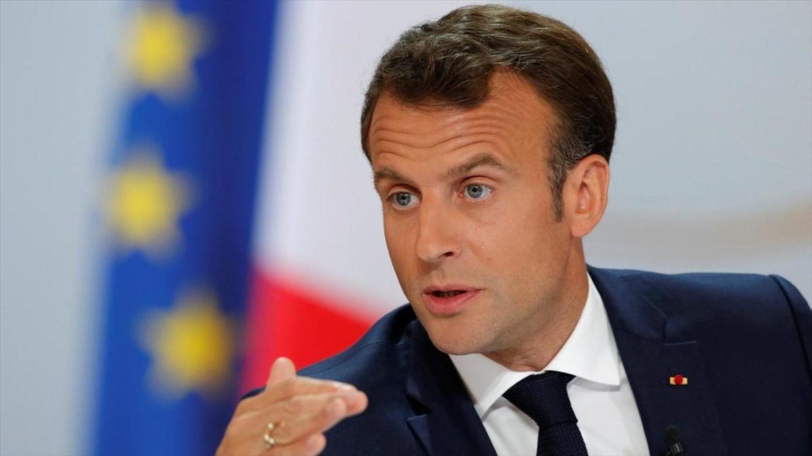رئیس جمهور فرانسه بوریس جانسون را تهدید کرد