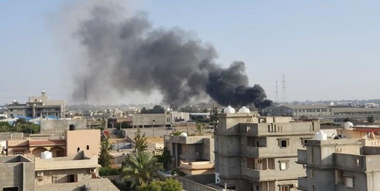 لیبی ، نیروهای حفتر یک منطقه مسکونی را بمباران کردند؛ یک زن و پسرش کشته شدند