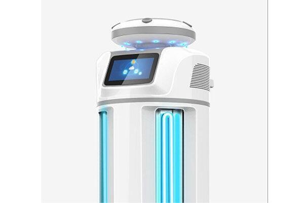 ربات ضدعفونی کننده از شیوع ویروس کرونا جلوگیری می نماید