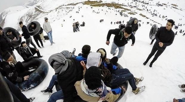 بهترین جاهای تهران برای برف بازی