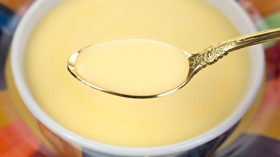 دستور غذا برای روزهای قرنطینه : سوپ پنیر طلایی