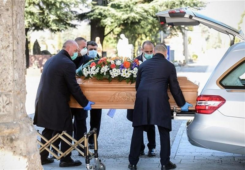 میزان مرگ ومیر روزانه بر اثر کرونا در ایتالیا به کمتر از 100 مورد رسید