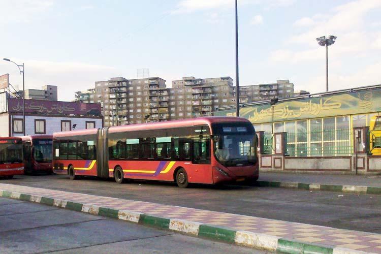 در اتوبوس BRT نقشه بریل نصب می گردد