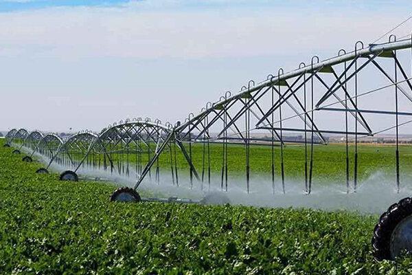 آبیاری نوین مزارع استان همدان بیش از دو برابر میانگین کشوری است