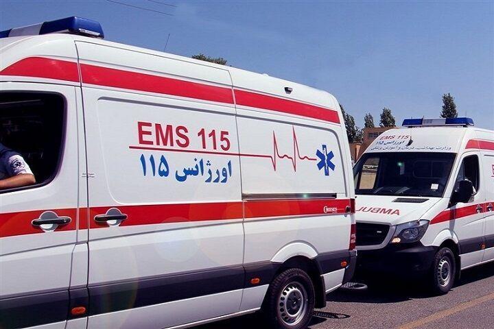 خبرنگاران تصادف 2 دستگاه اتوبوس در تهرانسر 16 مصدوم داشت