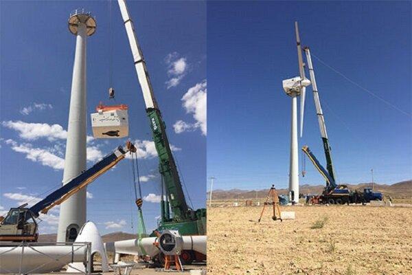 توربین بادی ساخت دانشگاه فردوسی مشهد در بینالود نصب شد