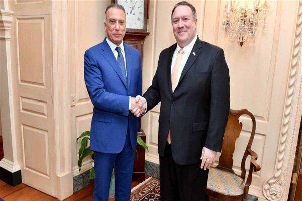 پمپئو: ملاقات سازنده ای با نخست وزیر عراق داشتم