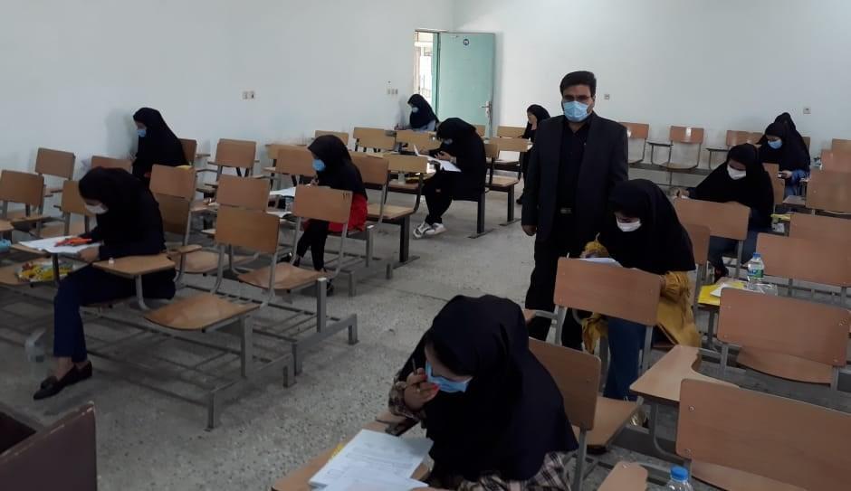 رقابت 440 داوطلب آزمون کاردانی به کارشناسی در دانشگاه آزاد اسلامی بهبهان