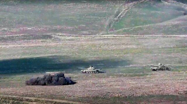 توافق ارمنستان و جمهوری آذربایجان برای برقراری مجدد آتش بس بشردوستانه